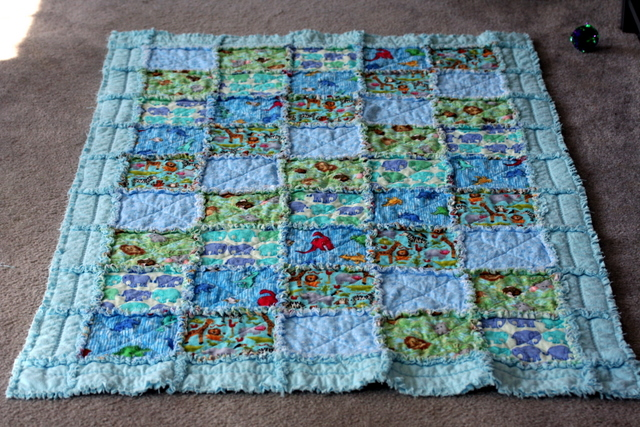 Ieatfood 187 How To Make A Rag Quilt