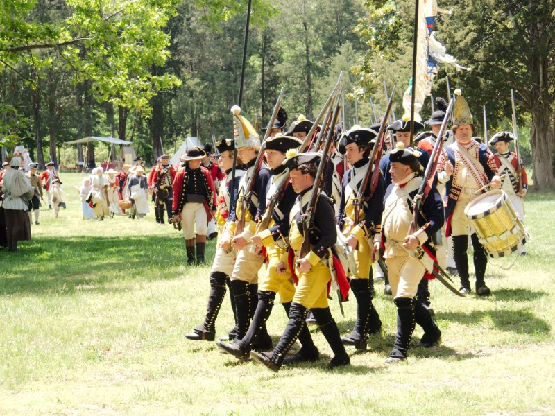 Revolutionary War Reenactment May 5, 2013